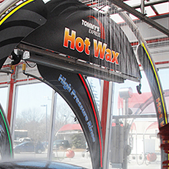 hot wax arch image